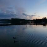 Il Lago di Viverone - Tramonto