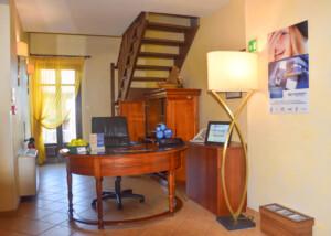 Hotel Le Rondini reception