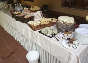 Hotel Astoria buffet